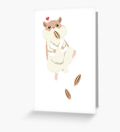 hamster luv3 Greeting Card