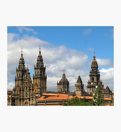 Cathedral and skyline Photographic Print
