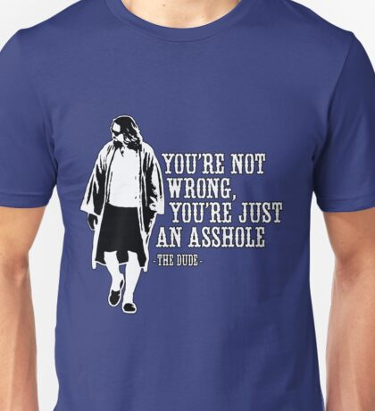The Big Lebowski - quote Unisex T-Shirt
