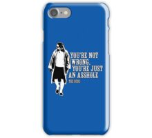 The Big Lebowski - quote iPhone Case/Skin