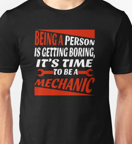 Being A Person Is Getting  Boring Unisex T-Shirt