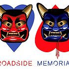 Roadside Memorial Oni Masks Tee by caseycastille