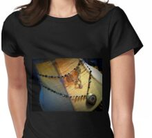 Steampunk Necklace 2.0 Womens Fitted T-Shirt