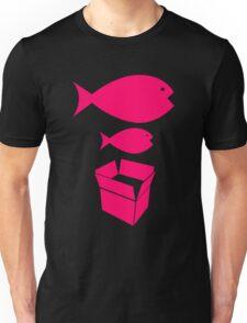 Big Fish Little Fish Cardboard Box Unisex T-Shirt