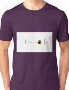Boating on glass Unisex T-Shirt
