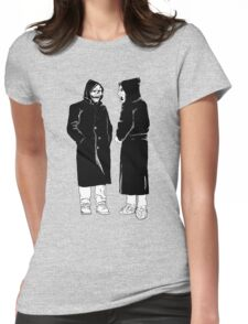 brand new - the devil and god  Womens Fitted T-Shirt