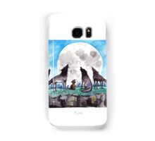 A Cat Raised by Wolves - by Mary Doodles Samsung Galaxy Case/Skin