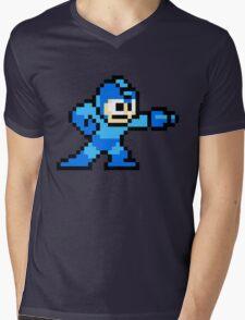 Mega Man game shirt Mens V-Neck T-Shirt