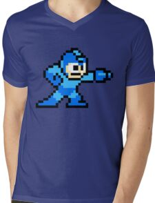Mega Man game shirt Mens V-Neck T-Shirt