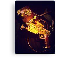Steampunk Gun and Holster 1.1 Canvas Print