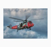 Royal Navy Search and Rescue Sea King Helicopter Kids Tee