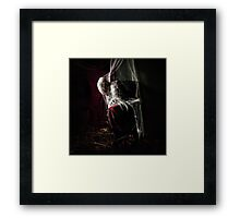The Woman Who Waited Framed Print