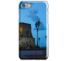 Castel dell Ovo - Blue Hour at Naples Fabulous Seaside Castle iPhone Case/Skin