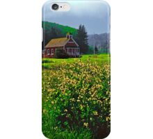 LITTLE RED SCHOOL HOUSE iPhone Case/Skin