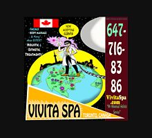 Vivita Spa, Toronto, Canada, Commercial Advert Artwork Unisex T-Shirt