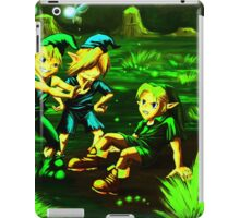 zelda small fight iPad Case/Skin
