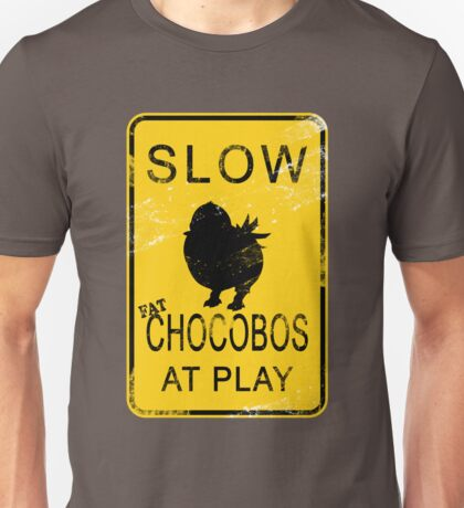 Slow Chocobos Unisex T-Shirt