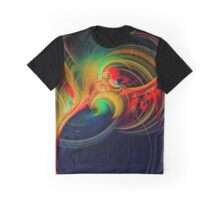 Flowing Graphic T-Shirt
