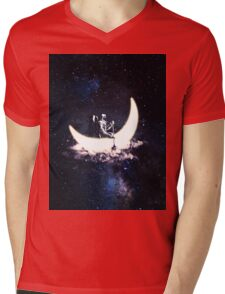 explorers universe Mens V-Neck T-Shirt