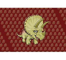Triceratops Photographic Print