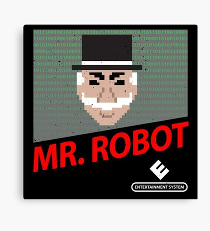 Mr. Robot NES Cover Canvas Print