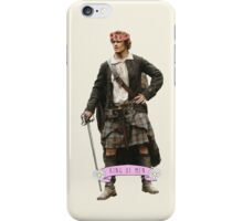 Jamie Fraser Flower Crown iPhone Case/Skin