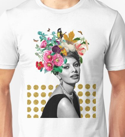 SOPHIA LOREN Unisex T-Shirt