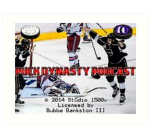 Puck Dynasty Podcast  - Load Screen Art Print