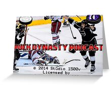 Puck Dynasty Podcast  - Load Screen Greeting Card
