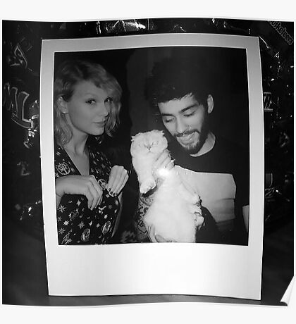 ZAYN - Taylor I Don't Wanna Live Forever Poster
