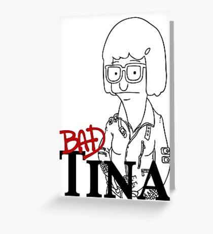 Tina Belcher Greeting Card