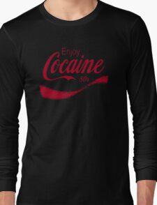 Cocaine 80's Long Sleeve T-Shirt