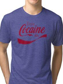Cocaine 80's Tri-blend T-Shirt