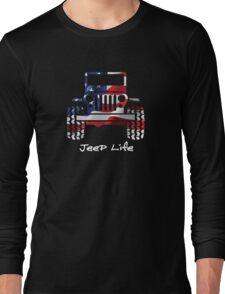 Jeep - USA Long Sleeve T-Shirt