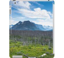 Glacier National Park, Montana iPad Case/Skin