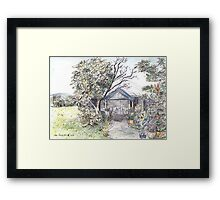 Lake Munmorah Homestead Framed Print
