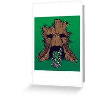 The Groot Deku Tree Greeting Card