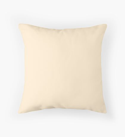 Blanched Almond Throw Pillow