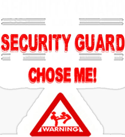 Security Guard Life Sticker