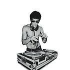 DJ Bruce Lee by alejaky00
