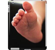 New born baby foot iPad Case/Skin