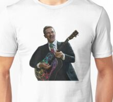 Chris Martin – Flower of Life Guitar Unisex T-Shirt