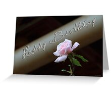 Birthday Rose Greeting Card