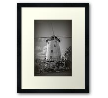 The Windmill, Launceston, Tasmania, Australia #2 Framed Print