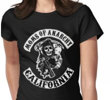 MOMS OF ANARCHY Womens Fitted T-Shirt