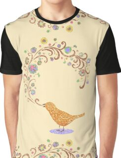 Birdsong Graphic T-Shirt
