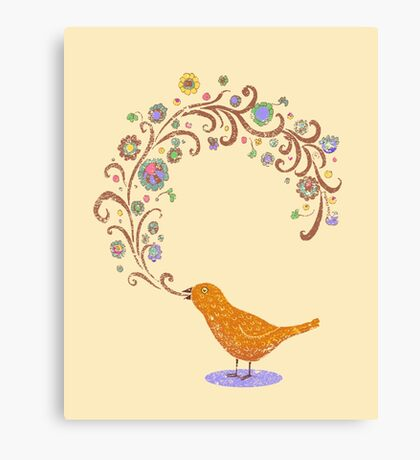 Birdsong Canvas Print