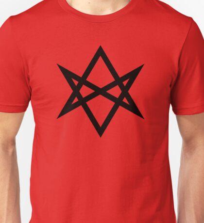 Hexagram | Magic Symbol | Men of Letters | Supernatural Print on Blood Red Unisex T-Shirt