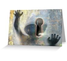 child of the blind Greeting Card