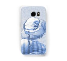 people on the beach Samsung Galaxy Case/Skin